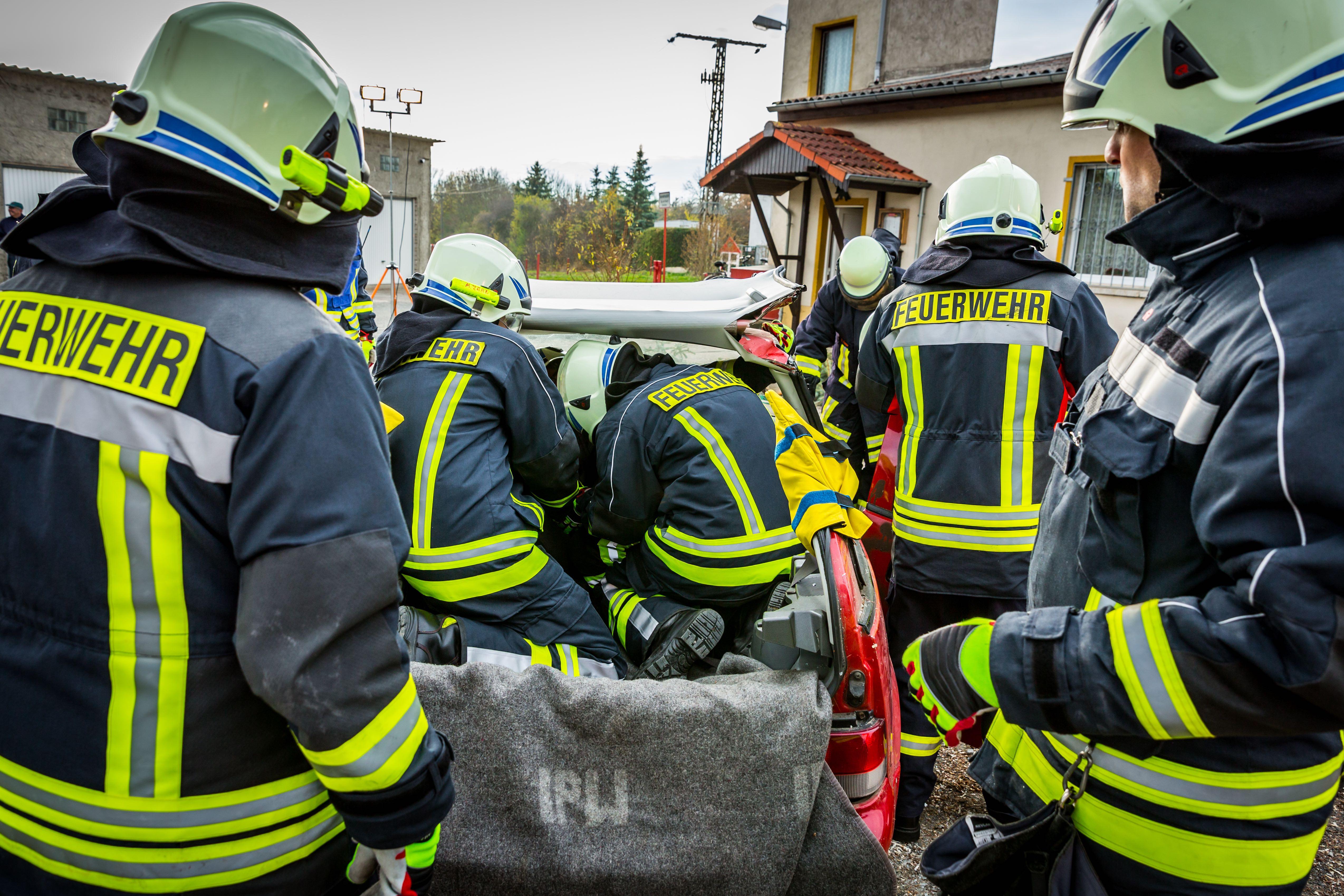 Feuerwehr Graben